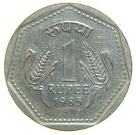 [NC] INDIA - 1 RUPEE 1985 - India