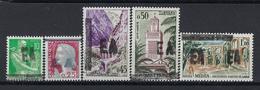 Colonie Française, Algérie EA, N° 354 à 358 * TB Surchargé E A ( état Algérien ) - Algérie (1962-...)