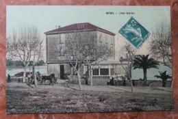 ANTIBES (06) - L'HOTEL BELLE VUE - CARTE TOILEE - Autres