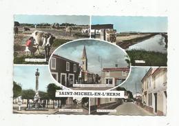 Cp , 85 , SAINT MICHEL EN L'HERM , Multi Vues , Vierge , Ed. Gaby/Artaud - Saint Michel En L'Herm