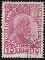 Liechtenstein    .    Yvert     .         2    .   O     .      Gebraucht - Liechtenstein