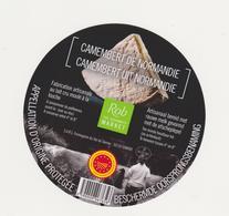 ETIQUETTE  DE CAMEMBERT VAL DE SIENNE 50 197 - Cheese