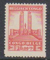 Belgisch Congo 1941 Monument Koning Albert I Te Leopoldstad 10Fr  1w ** Mnh (38938B) - Belgisch-Kongo