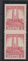 Belgisch Congo 1941 Monument Koning Albert I Te Leopoldstad 10Fr  1w (paar) ** Mnh (38938D) - Belgisch-Kongo