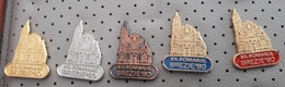 XII. Pilgrimage On Brezje 1980 Mary Help Of Christians Madonna With Child SLOVENIA Pins - Celebrities