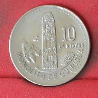 GUATEMALA 10 CENTAVOS 1991 -    KM# 277,5 - (Nº23144) - Guatemala