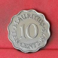 MAURITIUS 10 CENTS 1975 -    KM# 33 - (Nº23145) - Mauritius