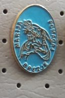 Brezje Mary Help Of Christians Madonna With Child Coat Of Arms SLOVENIA Pin - Celebrities