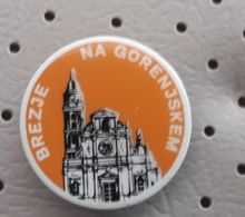 Brezje Church Coat Of Arms SLOVENIA Pin - Celebrities