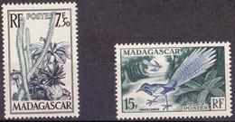 ⭐ Madagascar - YT N° 322 Et 324 ** - Neuf Sans Charnière - 1954 ⭐ - Unused Stamps