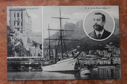 "MONACO - MUSEE OCEANOGRAPHIQUE - LE PRINCE ALBERT PREMIER - ""PRINCESSE-ALICE"" - Oceanografisch Museum"