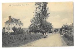 Cpa: 27 EZY (ar. Evreux) Entrée Du Bourg - Route Ezy - Anet (animée, Voiture, Colorisé) Ed. Petit - Frankrijk