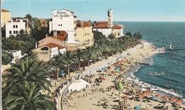 Saint-Raphaël - La Plage Et La Promenade - Hotel Les Algues - 1963 - éditions SEPT - Saint-Raphaël