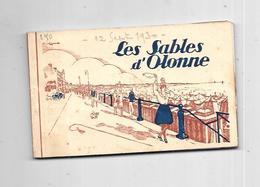 10791 - 85 - Carnet De 17 Cartes LES SABLES D'OLONNE - Sables D'Olonne