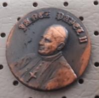 Pope John Paul II. Slovenia Pin - Celebrities