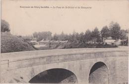 Bp - Cpa Souvenir De Vitry Fortifié - Le Pont De St Dizier Et Les Remparts - Vitry-le-François