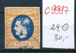 Rumänien Nr.  24  O (c9997 )  Siehe Scan Vergrößert - 1881-1918: Carol I.