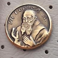 Priest Capuchin Leopold Mandic Slovenia Pin - Celebrities