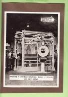 PHOTO Publicité Bascule  à Plateau Suspendu Pour Pesage Gros Bétail BERKEL - Document RARE - Lire Descriptif - Photos