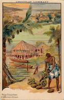 CPA Tahiti Océanie Océania Polynésie Non Circulé Publicité Chocolat Lombart - Tahiti