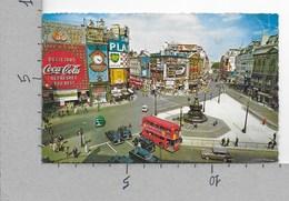 CARTOLINA VG REGNO UNITO - LONDON - Piccadilly Circus - 9 X 14 - ANN. 1965 - Piccadilly Circus