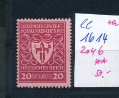 D.-Reich    Nr.  204 B  ** (ee1614  )  .....-siehe Scan Vergrößert - Deutschland