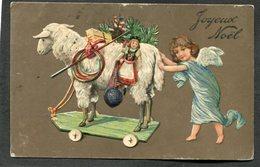 CPA - Ange - Joyeux Noël - Carte En Relief - Anges