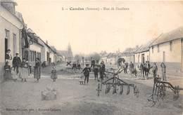 80-CANDAS- RUE DE DOULLENS - France