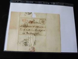 LETTRE A MONSIEUR LE MAIRE DE ROCHEFORT   -  1837  - - Marcophilie (Lettres)
