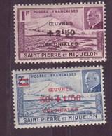 Saint-Pierre-et-Miquelon N ° 312-313**et 314** - St.Pierre & Miquelon