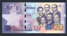 GHANA : 20 Cedis 2015 - P40 - Unc - Ghana