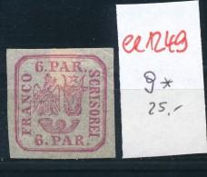 Rumänien Nr. 9 *    (ee1249 ) Siehe Scan - 1881-1918: Carol I