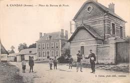 80-CANDAS- PLACE DU BUREAU DE POSTE - France