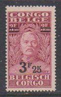 Belgisch Congo 1931 Stanley Ovptd 3.25F Op 3.50F  ** Mnh (38941J) - Belgisch-Kongo