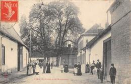 80-VERS- LE CHRIST ET LES MARRONNIERS - France