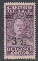 Belgisch Congo 1931 Stanley Ovptd 3.25F Op 2.75F  ** Mnh (38941L) - Belgian Congo
