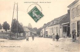 80-LOEUILLY- ROUTE DE CONTY - France