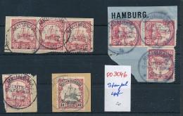 Kolonien Stempel Lot  (oo3046  ) Siehe Scan - Deutschland