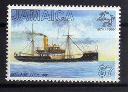 Jamaica 1999 Mail Ship Spey 1891 UPU 125th Anniversary MNH 1 Val. - UPU (Universal Postal Union)