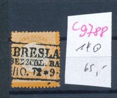 D.-Reich Nr.  14   O (c9788  ) Siehe Scan  Vergrößert - Gebraucht
