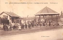 70-BREUCHES-LES-LUXEUIL- LA GARE ET LE LAVOIR - Sonstige Gemeinden