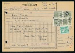 DDR-Telegramm Mit Landpost- Mußten Eigentlich Vernichtet Werden ....   (ze8527  ) Siehe Scan  Vergrößert - [6] République Démocratique