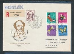 Schweiz -Sammler Beleg /FDC ............. (oo3215  ) Siehe Scan  Vergrößert - Schweiz