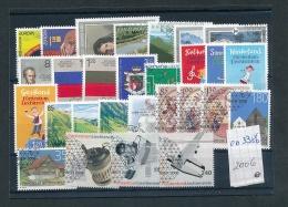 Liechtenstein  Lot   Ex  Jahr  2006  O   (oo3386   ) Siehe Scan  Vergrößert - Liechtenstein