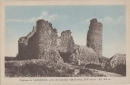 Environs De Lubilhac 43 - Ruines Du Château-Fort De Vernières - Cliché Photo Ferrari Massiac - France