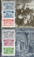 PIA  -  PORTOGALLO  -  1992  : Europa - (Yv  85-90) - Blocchi & Foglietti