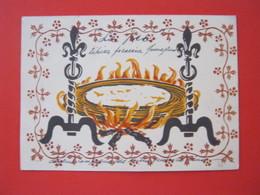CA7 - ITALIA VG. 1938 FORLI RIMINI PIADINA TIPICA FOCACCIA ROMAGNOLA NEL TESTO  ALLEGORICA - Ricette Di Cucina