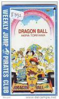 MANGA Télécarte Japon * DRAGON BALL *  (8392)  PHONECARD JAPAN * TELEFONKARTE - Cinema