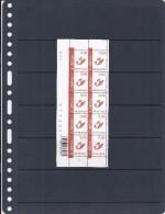 Belgie - Belgique 3351 Velletje Van 10 Postfris - Feuillet De 10 Timbres Neufs  -  Posthoorn Rood Prior Logo Binnenland - Feuilles Complètes