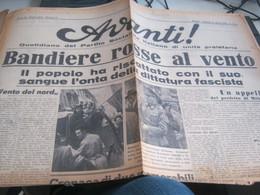 GIORNALE AVANTI 27 APRILE 1945 - War 1939-45
